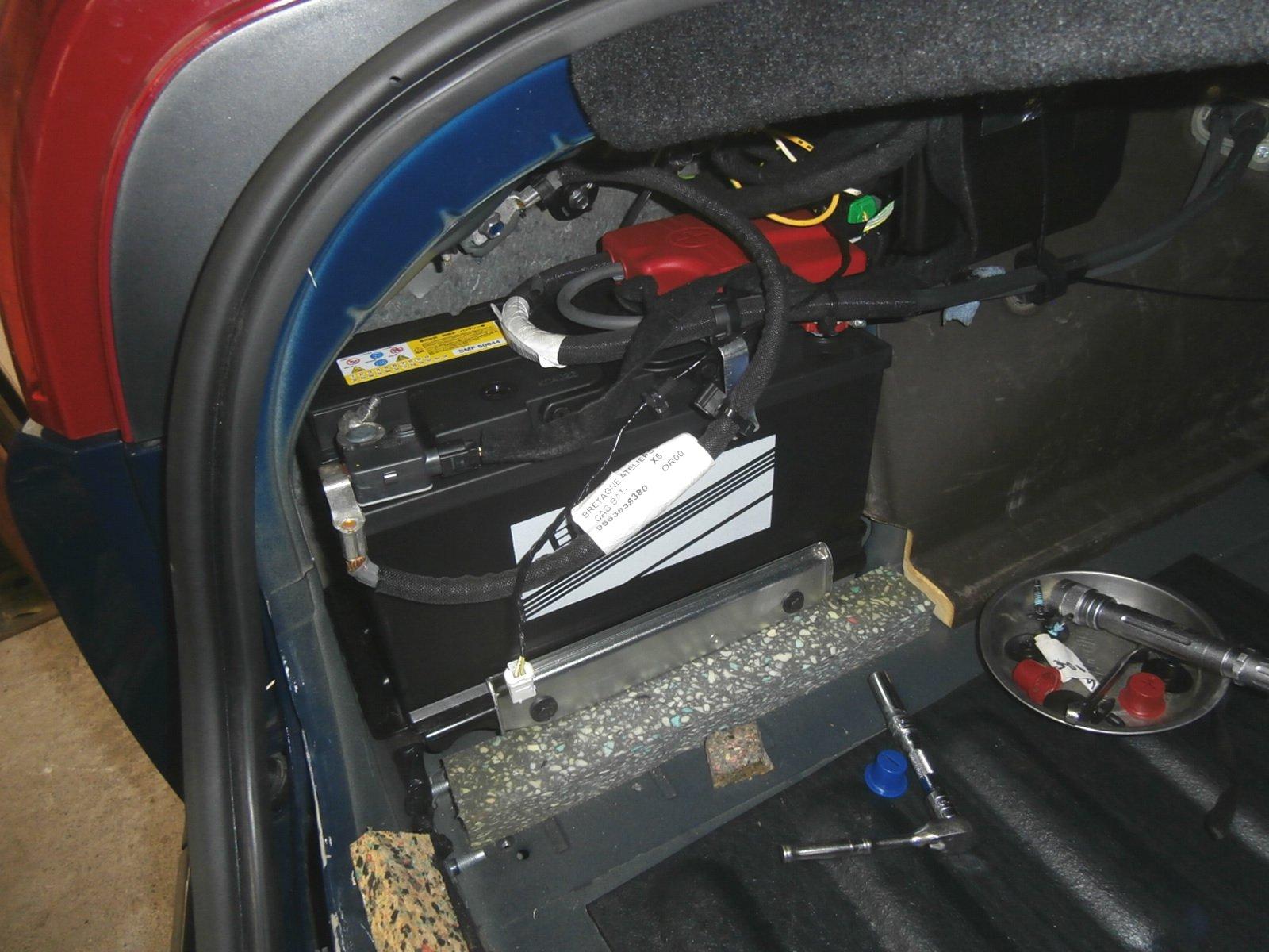 シトロン C6 バッテリー