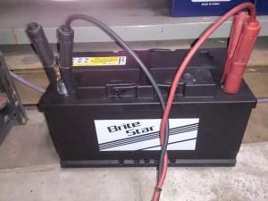 BMW E39 バッテリー