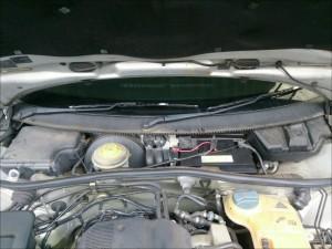 VW パサート B5 バッテリー交換