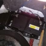 ジャガーSタイプ バッテリー交換