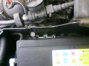 VOLVO V70 バッテリー交換