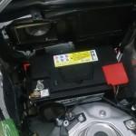 AMG E63 バッテリー交換