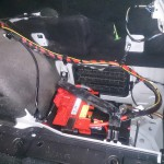 BMW E91 バッテリー交換