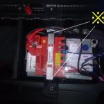BMW E87 バッテリー交換