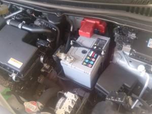 ワゴンR(MH34S) バッテリー交換