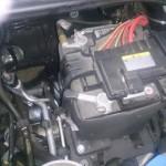 VW-UP! バッテリー交換