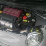 アバルト500 バッテリー交換