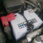 マーチ K13 バッテリー交換
