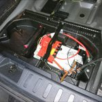 BMW X1 バッテリー交換