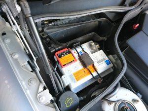 SL500 バッテリー交換