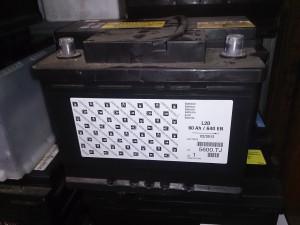 プジョー 307 L2D 60Ah 640EN 5600TJ バッテリー