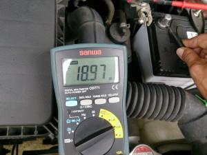 暗電流の測定方法
