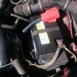 アルファロメオ 145 バッテリー交換