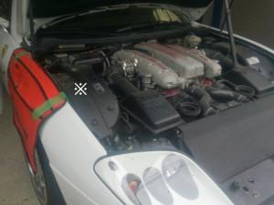 フェラーリ575Mマラネロ バッテリー交換
