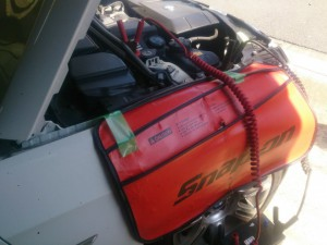BMW E92 バッテリー交換