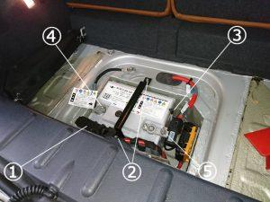ミニ クーパーS バッテリー交換