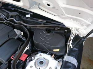 ベンツ W212  バッテリー交換