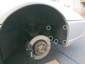 フェラーリ F355 バッテリー交換