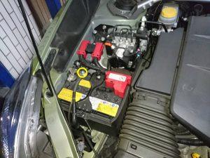 XV ハイブリッド バッテリー交換