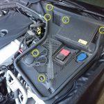 ベンツ W205 バッテリー交換
