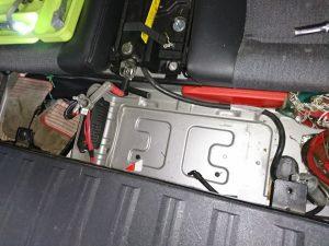 ボルボ XC90 バッテリー交換
