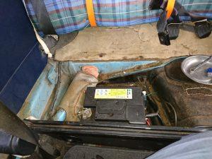 VW タイプⅠ バッテリー交換