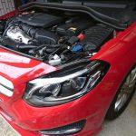 ベンツ W246 バッテリー交換
