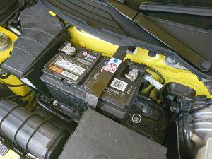 981 ボクスター バッテリー交換