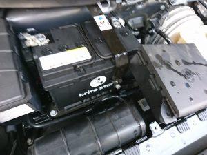 ポルシェ 991 バッテリー交換