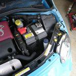 アバルト 500 バッテリー交換