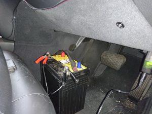 ベンツ W220 バッテリー交換