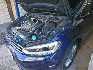 VW トゥーラン バッテリー交換