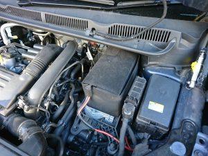 VWトゥーランのバッテリー交換