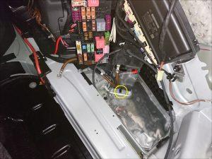 ベンツ W222 S550 バッテリー交換
