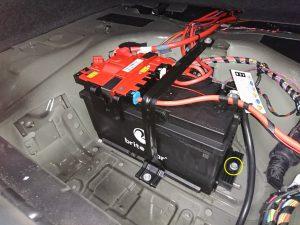 BMW F10 アクティブハイブリッド5 バッテリー交換