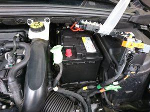 シトロエン DS4 バッテリー 交換