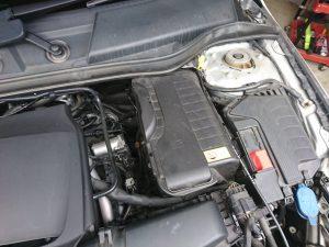 ベンツ CLA X117 C117 シューティングブレーク バッテリー交換