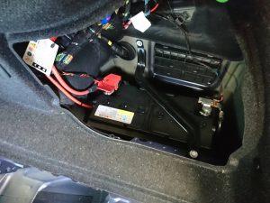 Alpina D3 Biturbo アルピナ バッテリー 交換 BMW F30