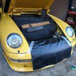 ポルシェ 911 993 バッテリー交換