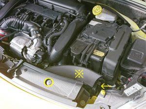 シトロエン DS3 バッテリー 交換