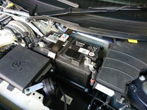 ポルシェ718ボクスター(982)のバッテリー交換