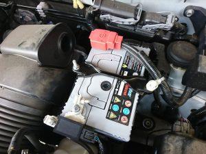 N-BOX バッテリー 交換