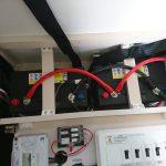 ディープサイクルバッテリー ターミナル 配線 接続