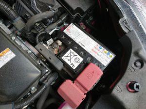 50系 プリウス 補機 バッテリー 交換