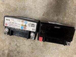 BMW 640 F12 F13 F06 サブ 補助 バッテリー 交換