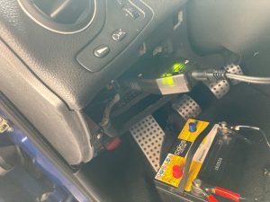 アルファロメオ 156 GTA バッテリー交換