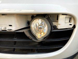 987 ケイマン ポジション フォグランプ 交換 LED