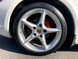 987 ケイマン タイヤ交換 ミシュラン PS 4S