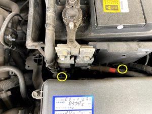 ボルボ VOLVO C30 バッテリー 交換 方法 適合 取付